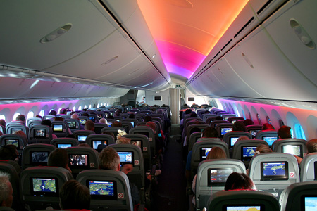 Dreamliner Cabin Rear