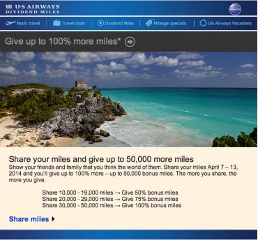 Us airways cruise deals