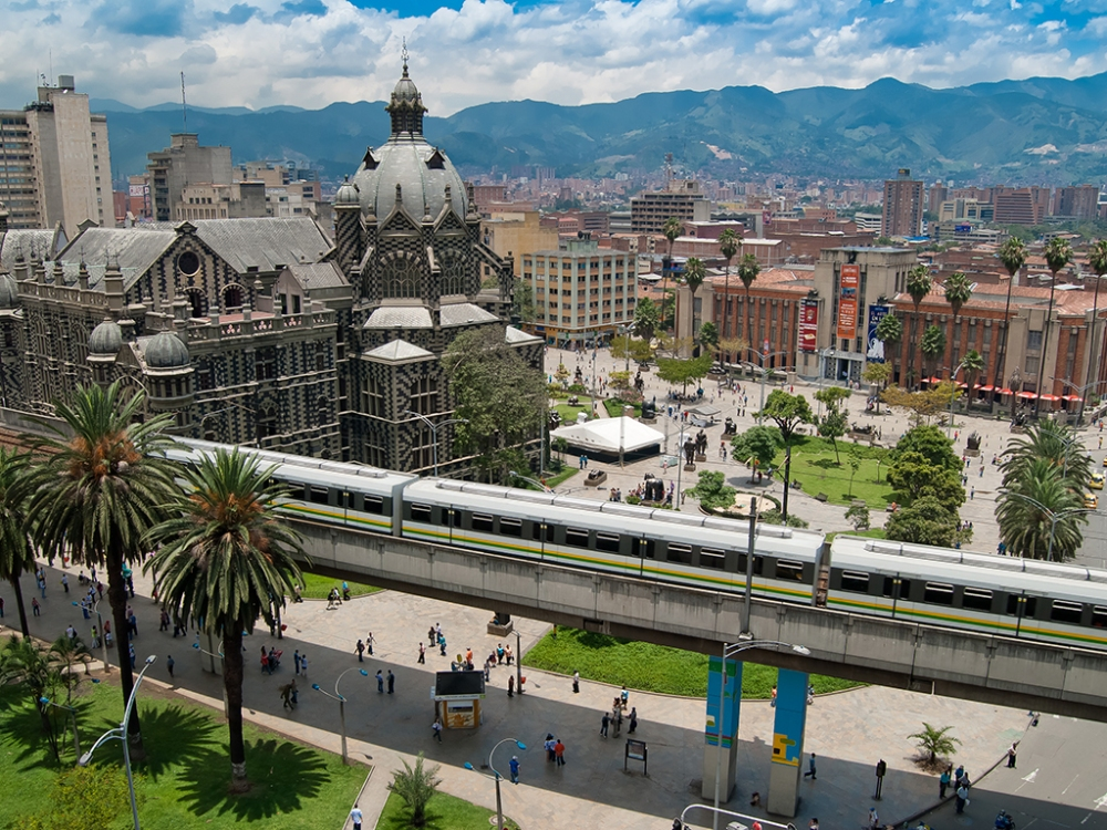 Visit beautiful Medellin