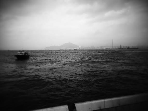 looking towards Tsing Yi