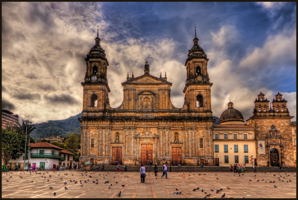 Catedral Primada, Bogota, Colombia. Licensed under CC from https://commons.wikimedia.org/wiki/File:Catedral_Primada,_Bogota,_Colombia_(5796344537).jpg#