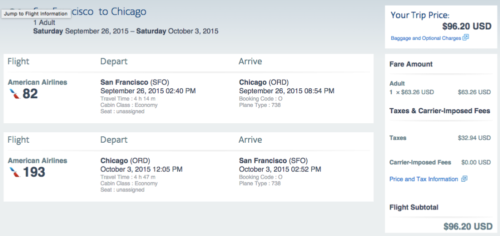 Chicago for $97 roundtrip!